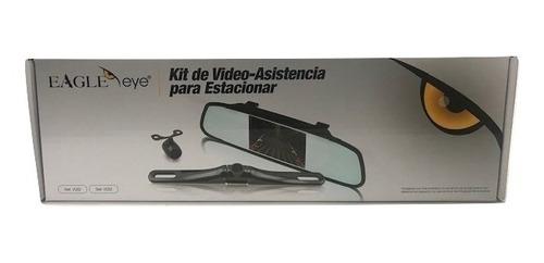 cámara y retrovisor para carro instalado