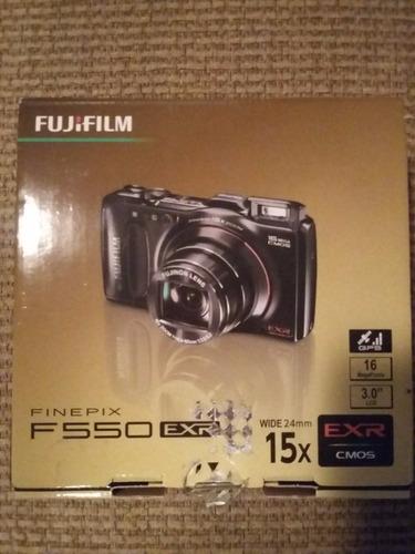 cámara y videocámara fujifilm finepix f550