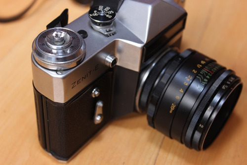 cámara zenit e  como nueva