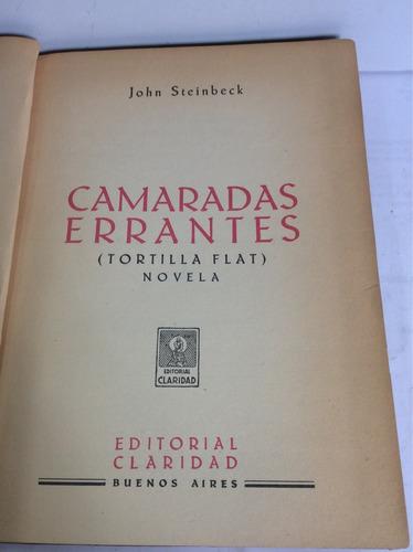 camaradas errantes ( tortilla flat), john steinbeck