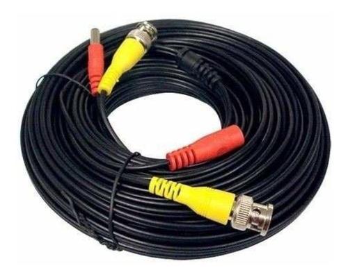 camaras cable para kit seguridad cctv armado 18mts siames