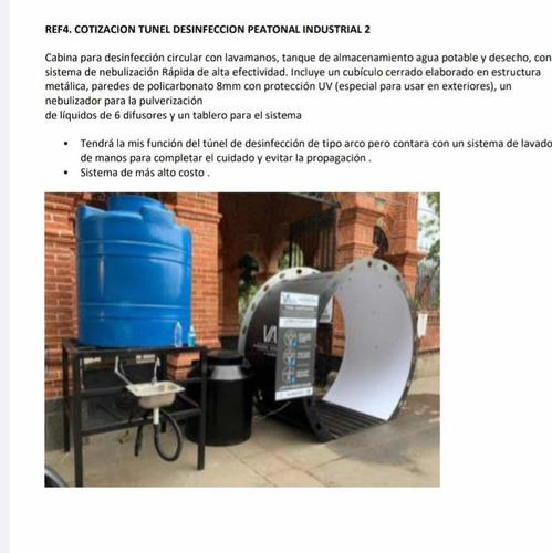 camaras de desinfeccion local e industrial