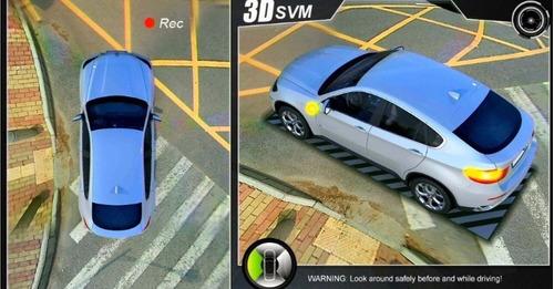 camaras de estacionamiento 3d 360 grados premium