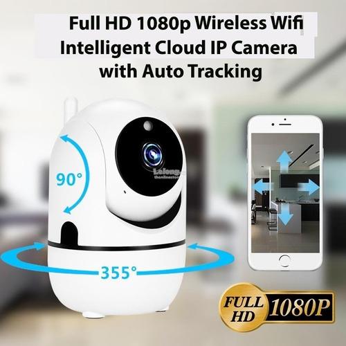 cámaras de seguridad 360 wifi visión nocturna siguen movient