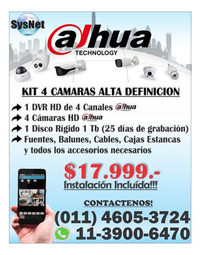cámaras de seguridad - consulte otras configuraciones!