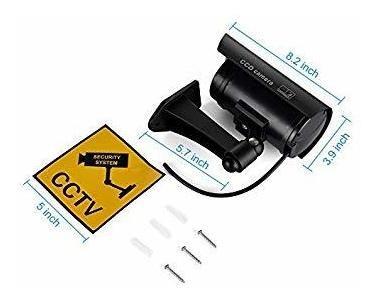 cámaras de seguridad falsas, simulada del cctv sistema de v