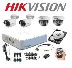 cámaras de seguridad hd hikvision instalación incluida