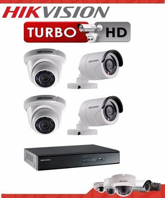 camaras de seguridad hikvision kit completo dvr ezviz cloud