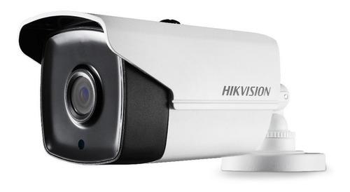 cámaras de seguridad kit cctv hikvision dvr + 4 cám.  5 mpx