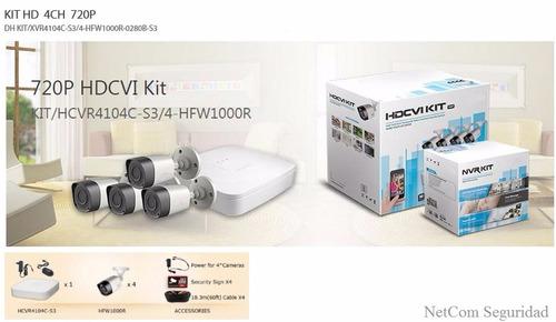 cámaras de seguridad, kit de 4 cámaras