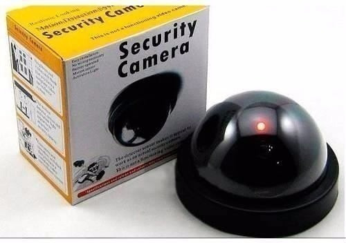 cámaras de seguridad tipo domo falsas sensor de movimiento