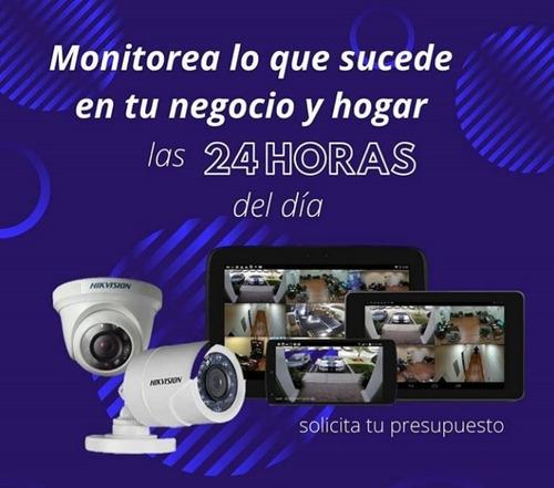 cámaras de seguridad y cercado eléctrico