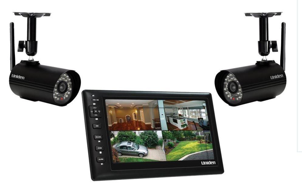C maras de seguridad y videovigilancia inal mbricas uniden - Camaras de vigilancia inalambricas ...