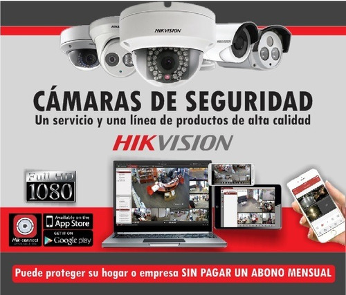 camaras de video vigilancia instalación- hikvision - cctv