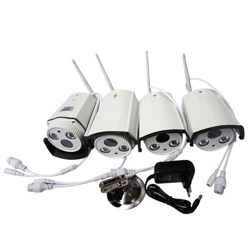 C maras de vigilancia inal mbricas set de seguridad elme - Camaras de vigilancia inalambricas ...