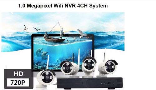 camaras de vigilancia inalambrico de 4 hd + 1tb incluido