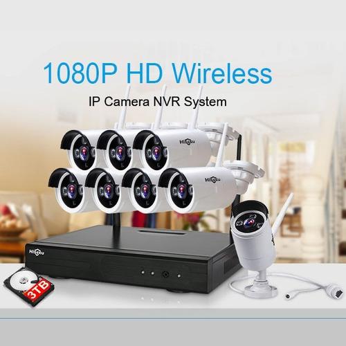cámaras  de vigilancia kit camaras de seguridad inalambrica