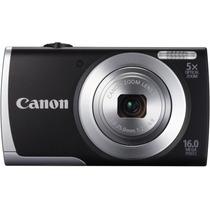 Cámara Canon Powershot A2500 16 Mp Memoria 4 Gb Forro, Nueva