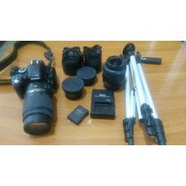 Camara Nikon D5100 Vr + Lente 18-55 Y 55-300
