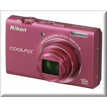 Camara Nikon Coolplix S6200 10xzoom 16 Mp Hd-video Ccd/vr
