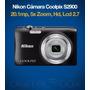 Camara Digital Nikon S2900 20.1mpx Hd Lcd 2.7 Zoom 5x