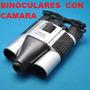 Binoculares Con Camara Espia-toma Fotos Y Video, 10 X 25
