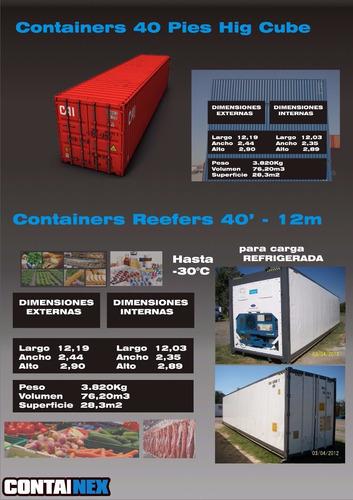 camaras frigorificas - reefers - containers refrigerados