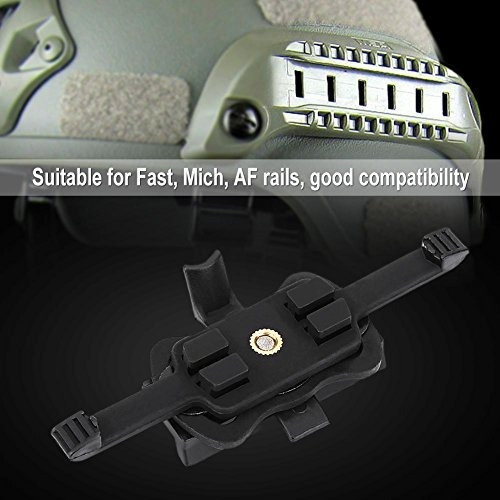 camaras hd barra soporte adaptador para cascos rapido de lib
