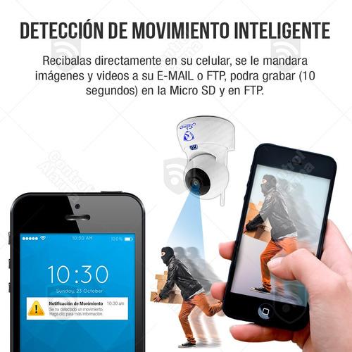 camaras ip robot seguridad wifi vigilancia hd dvr 128 gb