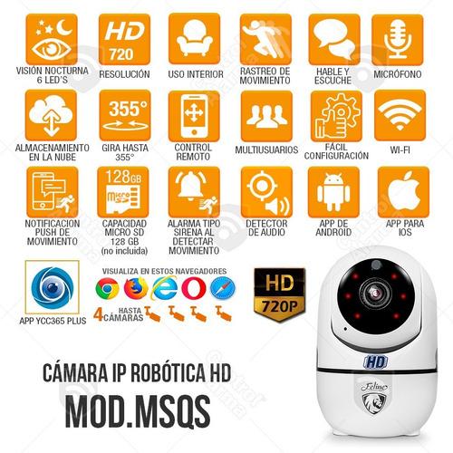camaras ip wifi seguridad rastreo nube hd espia dvr 128 gb
