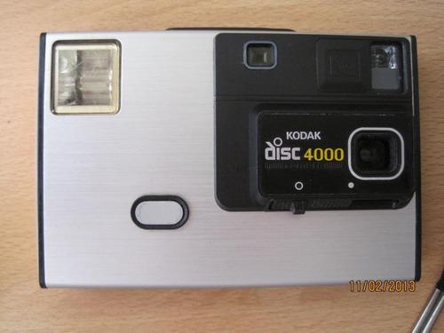 camaras kodak compact disk 4000 y tele challenger retro disc