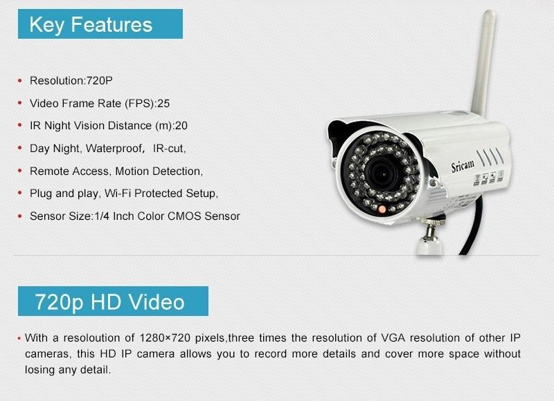 Camaras seguridad ip exteriores inalambrica vision for Camara ip inalambrica exterior