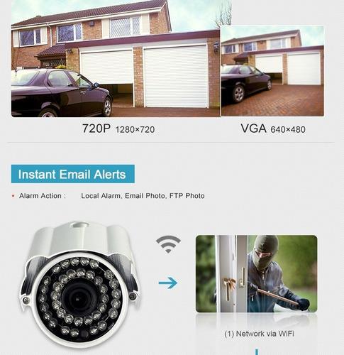 camaras seguridad ip exteriores inalambrica vision nocturna