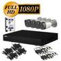 Kit Cctv 4 Camaras Full Hd1080p Dahua Dvr P2p Disco1tb