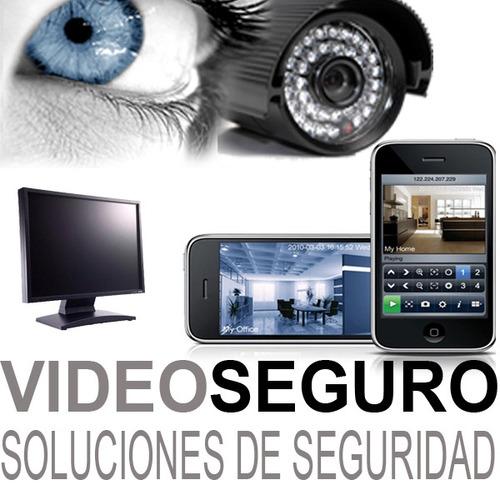 camaras soportes dvr full instalacion celular internet promo