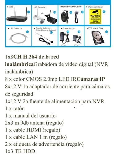 cámaras vigilancia kit camaras seguridad