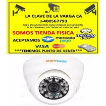 Camara Domo 1000tvl 3.6mm 24leds Infrarrojos Vision Nocturna