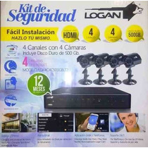 Kit De Camaras De Seguridad Logan