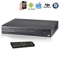 Dvr De 4 Canales H.264 Nuevo Con Alarma, Audio, Mobile, Ddns