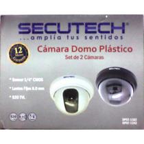 Kit Camara Secutech Dpst-11 2 Camara Transfo Conector Cable