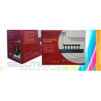 Kit De Seguridad Secutech 8 Canales 6 Camaras Dd 500 Gb