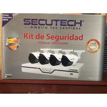 Kit Cámaras De Seguridad Secutech, Hdmi, Incluye Dd500gb