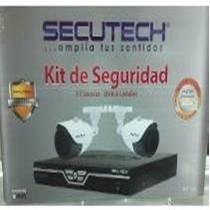 Kit De Seguridad Secutech 2 Camaras + Dvr 4 Canales