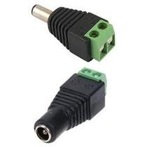 Conector De Corriente Plug 12v, 2,1mm Macho Hembra El Par