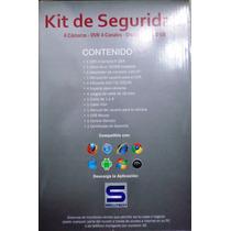 Kit Secutech 4 Camaras Bullet/dvr Dd 320gb Cables Y Conector