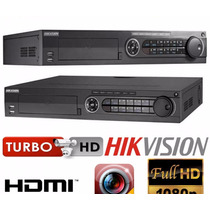 Dvr Turbo Hd 16 Canales Hikvision Ds-7316hqhi-sh