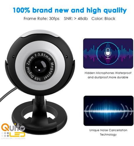 camaras web hd 640x480 web cam teletrabaj pc laptop mic usb