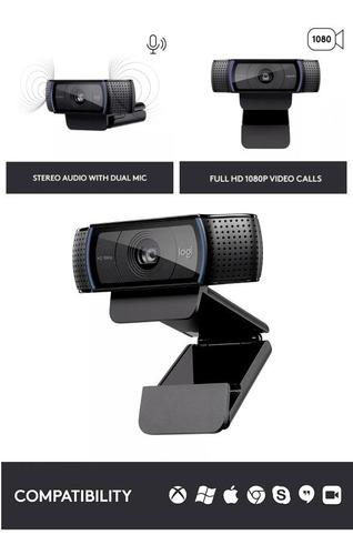 cámaras web logitech c920 hd pro webcam - 5 unidades