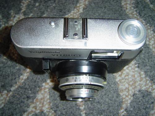 camara.voigtländer vitoret 35 mm c/flash