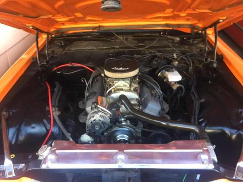 camaro 1972 v8 gm 350 5.7 l. laranja